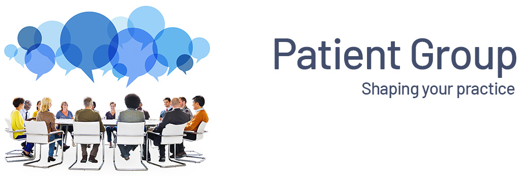 image representing patient participation group